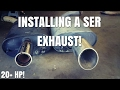 How To Remove A Exhaust On A Nissan Altima Nissan  Maxima Part 1