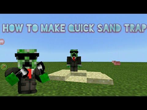 Mcpe How to make Quicksand