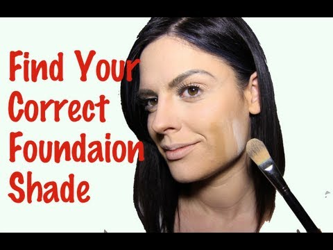 How to find your correct foundation shade (how to choose the right foundation shade)
