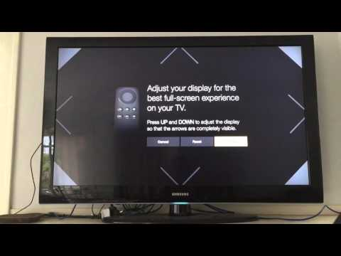 Fix the video scaling for Kodi on the Amazon Fire TV -  Display calibration