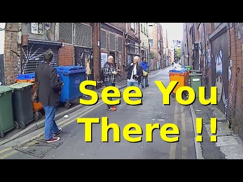 Photo Walk:  Manchester; See You There Promotion Video