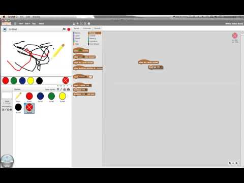Scratch Tutorial 6 - Drawing!