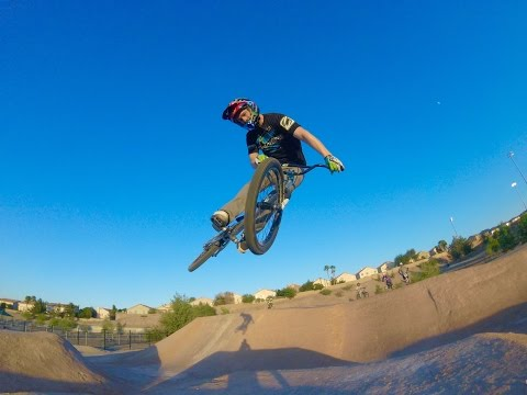 Connor Fields at BMX Pump track and Trails