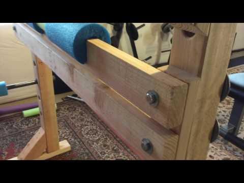 DIY Preacher Curl Attachment for Power Rack