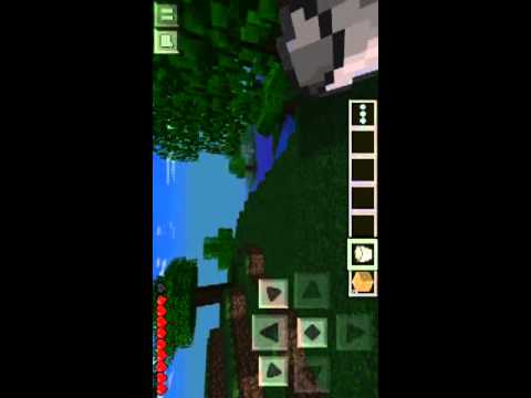 How to use a bucket on minecraft pe Easy and obvious
