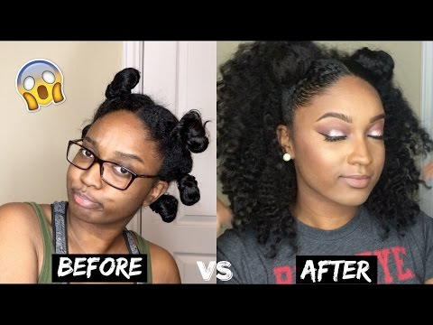 How I Stretch My Hair After Wash Day | Best Braid Out Ever!