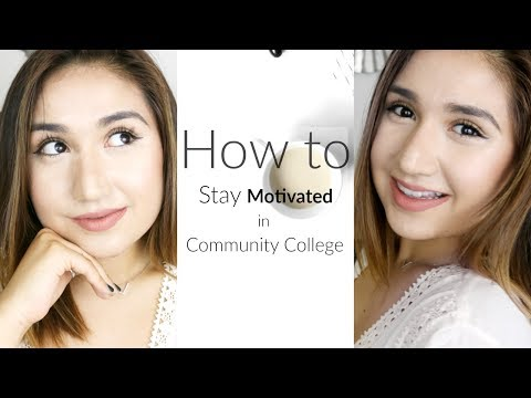 Stay Motivated in Community College! 3 EASY Tips!