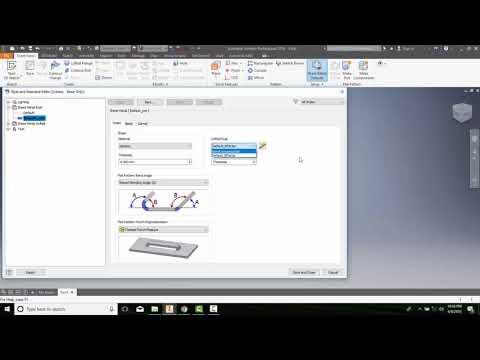 14-03 Setting Sheet Metal Components Parameters   Sheet Tab