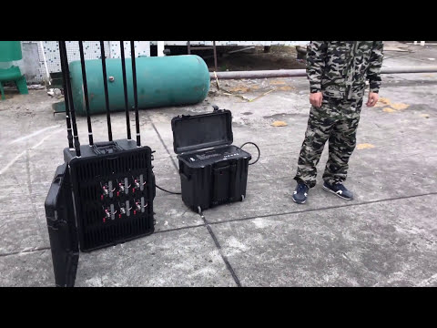 2017 Test Drone Jammer Anti drone device