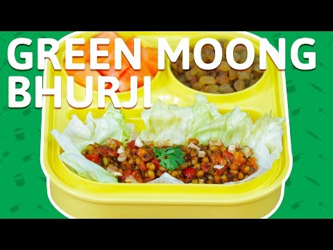 Vegetable & Moong Bhurji - Easy To Make Bhurjee Recipe - Healthy Recipe For Kids Tiffin Box