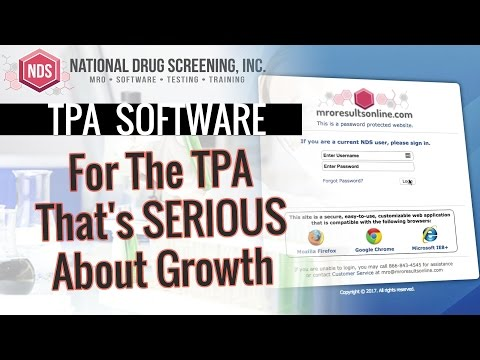 Drug Testing Management Software For TPAs