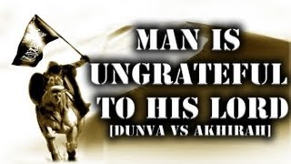 Sheikh Zahir Mahmood - Man Is Ungrateful To His Lord || NEW 2012 || 1080pᴴᴰ