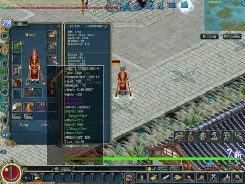Conquer Online Water-Warrior-Trojan