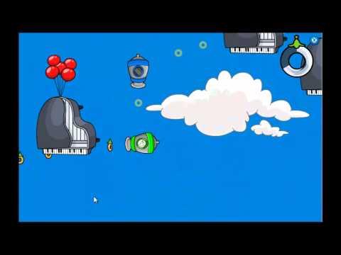 Club Penguin - Puffle Launch Blue Sky Level 4