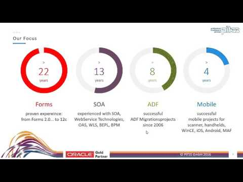 Webinar Oracle Forms 12c - Get the best out of your application
