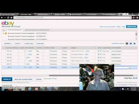 How to find the UPC box on eBay listings Giveaway 8-19-15