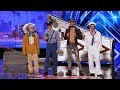 Download  America's Got Talent 2017 The Quiddlers Hilarious Village People Tribute Full Audition S12E06 MP3,3GP,MP4