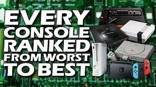 Every Video Game Console Ranked From WORST To BEST