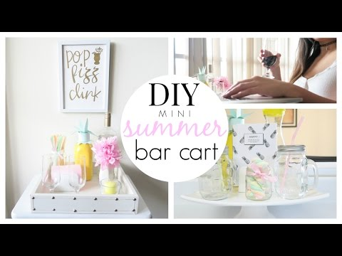DIY Mini Bar Cart & Drink Station | Summer Edition | DAISO PROJECT