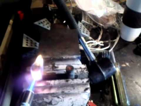 Welding cable vs. Battery cable burn up test