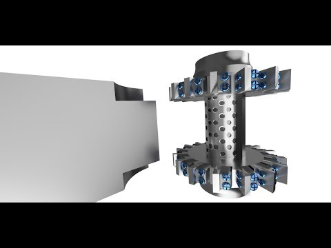 Straddle milling - MILLING OPERATION ANIMATION