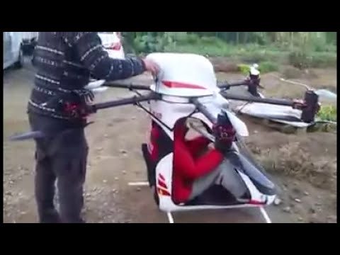 Manned homemade drone