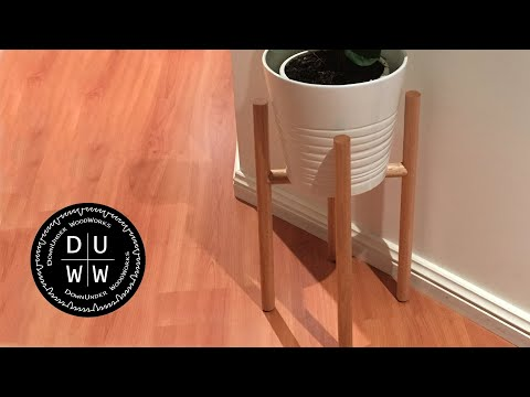 How to - DIY Quick and Easy Pot Plant Stand - Planter Stand