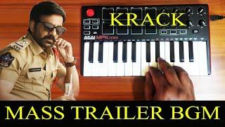 krack Mass Trailer Bgm By Raj Bharath Thaman S.S