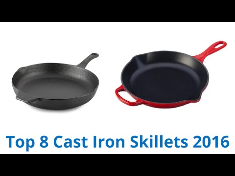 8 Best Cast Iron Skillets 2016