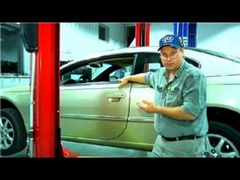 Car Maintenance Tips & Tricks : How to Repair Ceiling Material in Cars