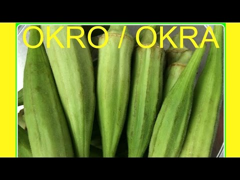 Okro/Okra - How to chop or blend