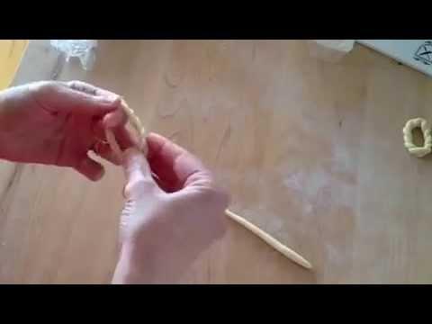 how to make lorighittas (handmade pasta)