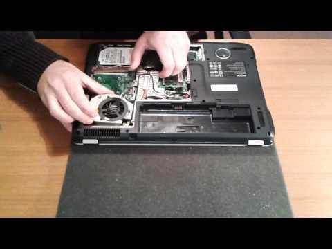 Come smontare notebook Acer Aspire 5920