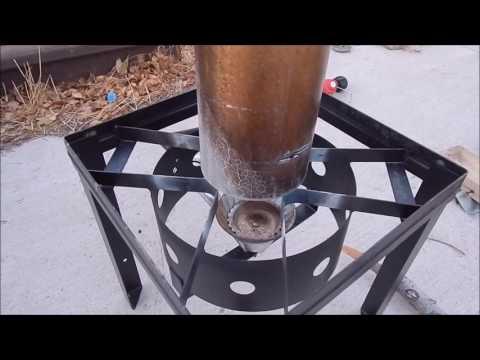 DIY - Propane Gas Garage Heater Part 1