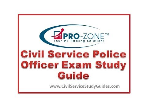 Civil Service Police Officer Exam Study Guide