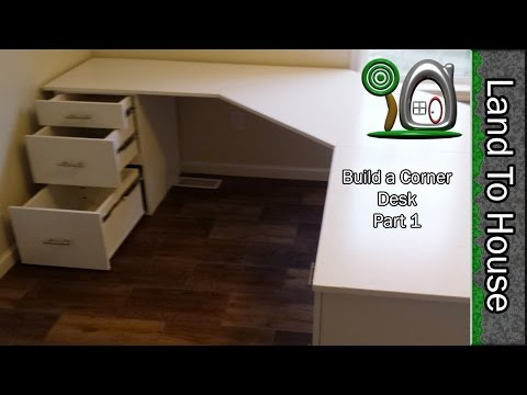 Build a Corner Desk Part 1 of 2