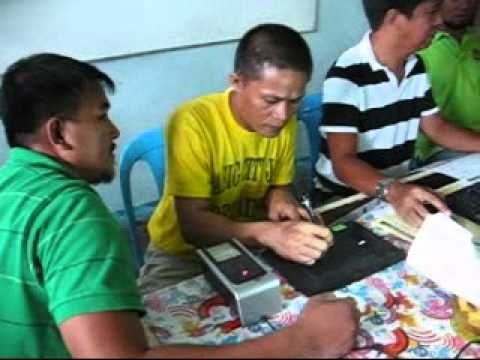 On-Site Registration of Detainees for Barangay Election 2010.wmv