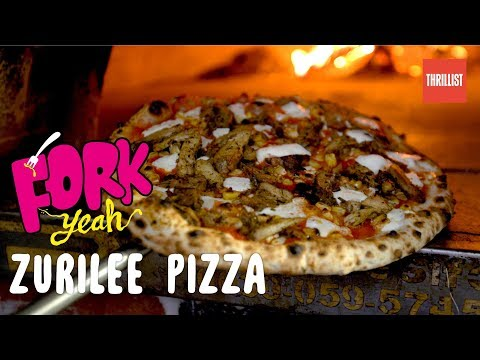 Jerk Chicken & Stewed Oxtail in Pizza Form || Fork Yeah