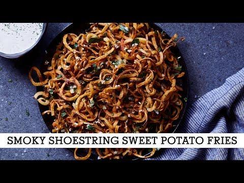Smoky Shoestring Sweet Potato Fries