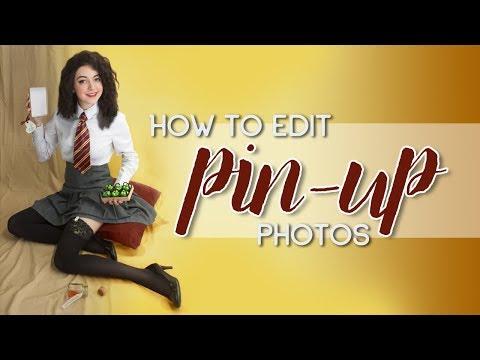 How I Edit Pin-Up Photos