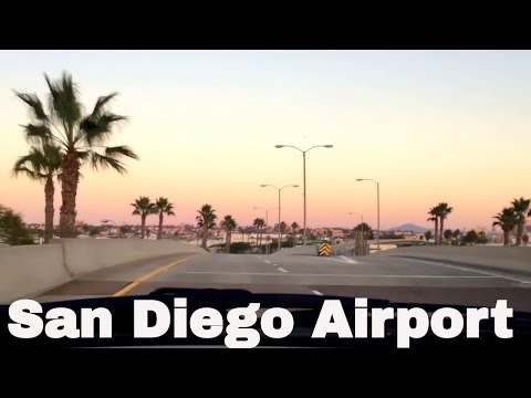 13 Minutes San Diego, California International Airport driving directions (SAN)