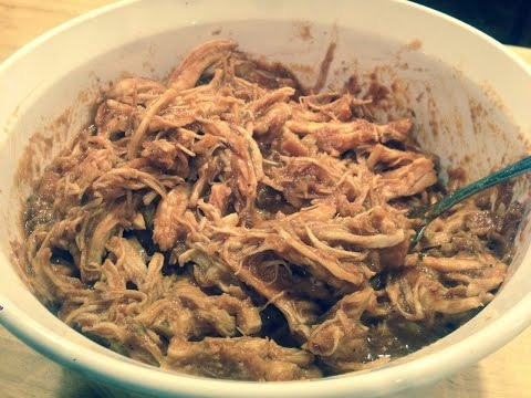 Easy Crockpot BBQ Chicken Recipe