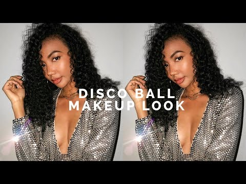 ✨ GRWM: HOLIDAY PARTY DISCO BALL MAKEUP ✨