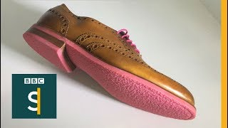 The designer stamping out chewing gum litter - BBC Stories