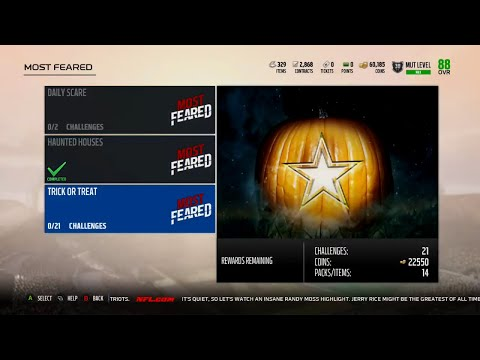 Madden 18 Ultimate Team Most Feared Scary Fast Information,Sets,Solos, Captain and Commander Players