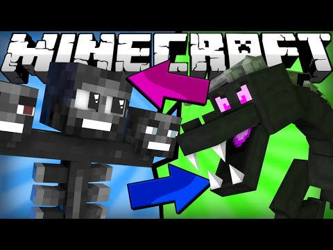 If the Ender Dragon and Wither Switched Places - Minecraft