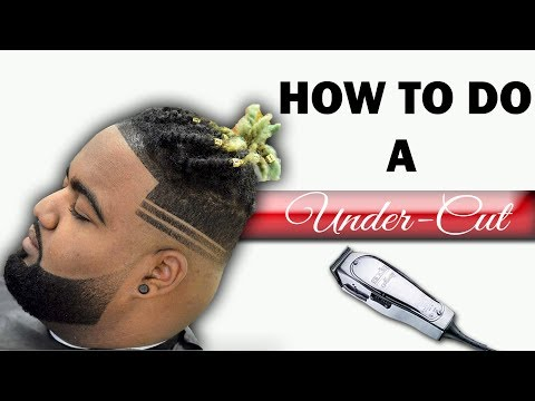 Barber Tutorial: How To Do A Under Cut With Parts HD