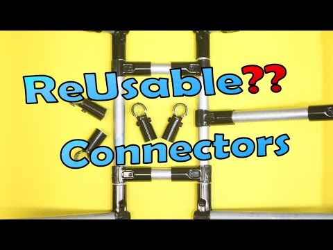 ReUsable Pipe Connectors - Maker Pipe