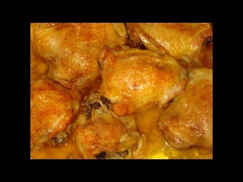 Easiest Baked Chicken Ever!! +Quick rice tutorial
