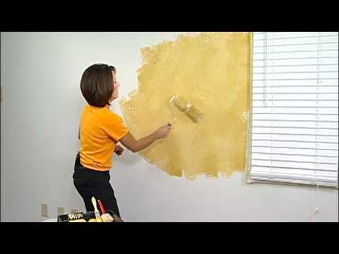 2-Color Faux Painting Instruction by The Woolie (How To Paint Your Walls) #FauxPainting